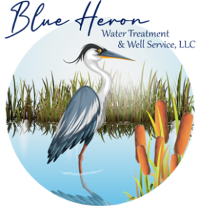 Blue heron water treatment and well service Bucks County pa, nj and surrounding areas logo