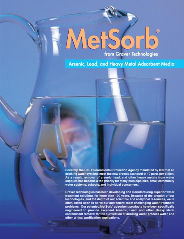 metsorb - blue heron water treatment service